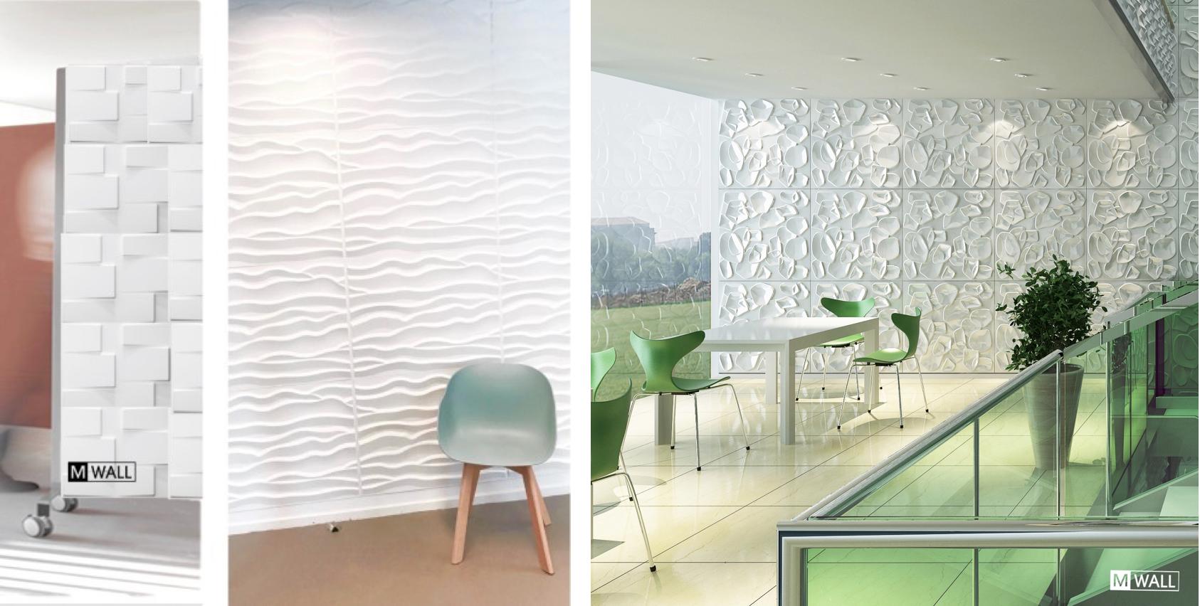 Wandpanelen Kantoor | Mwall - Specialist in decoratieve design 3D ...